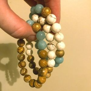 Jewelry - Turquoise Beaded Bracelets